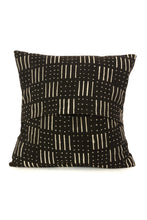 Black Mud Cloth Pillow Covers Dash