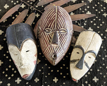 Small African Passport Masks Set 2