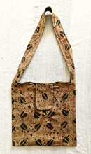 Brown Cowrie Mud Cloth Cross Body