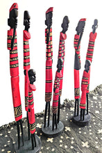 Maasai Family Wood Sculptures