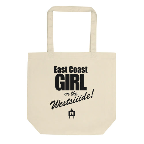 East Coast Girl On the West Side Canvas Tote bag