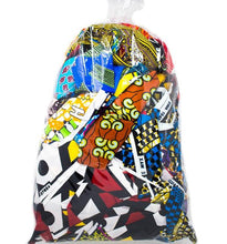 ankara african fabric scarps by the pound bag