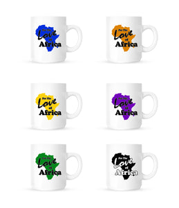 For the Love of Africa Coffee Mug 11 oz