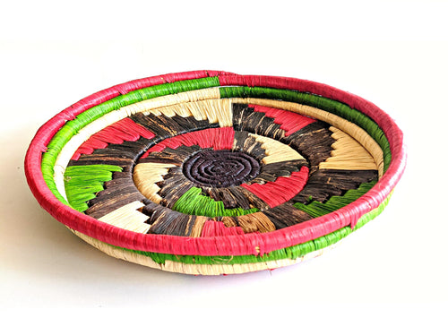 Red Green Tanzania Serving Tray