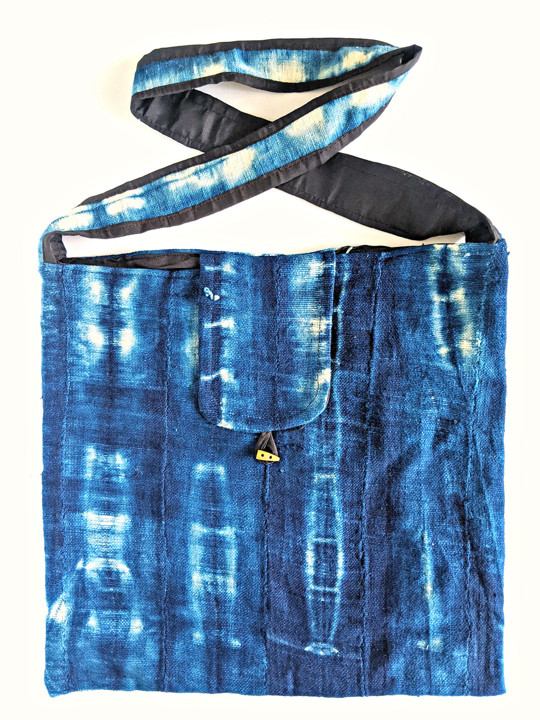 Indigo Mud Cloth Cross Body Bag 2