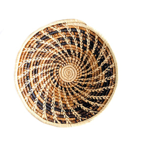 Large African Basket Natural