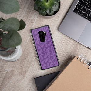 Purple Tribal Samsung Phone Case