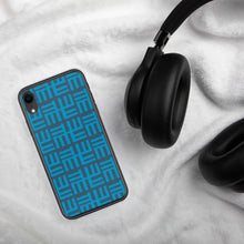 Blue Tribal iPhone Case