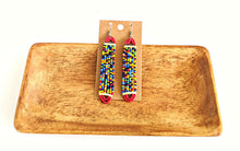 Colorful Maasai Bead Earrings 18