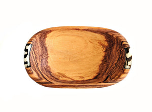 Olive Wood Spice Bowl Oval