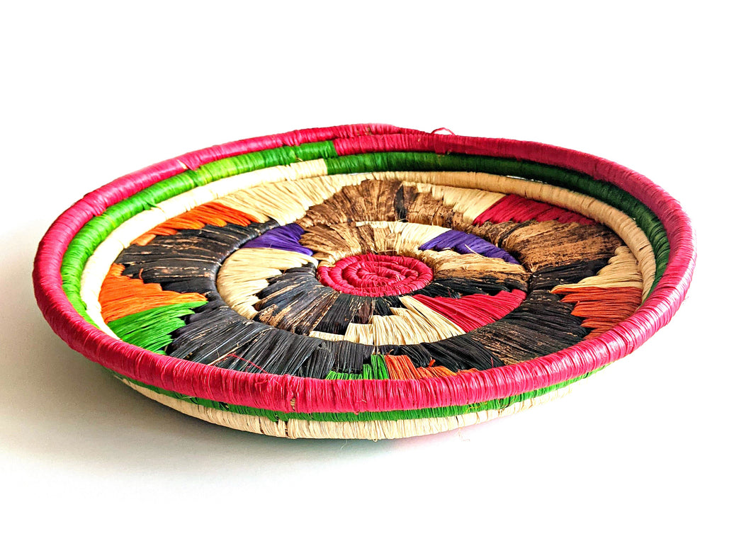 Orange Multi Tanzania Serving Tray
