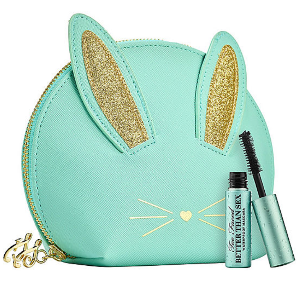 emma chai, TOO FACED: Bunny Sex Mascara Set-Blue-Limited Edition