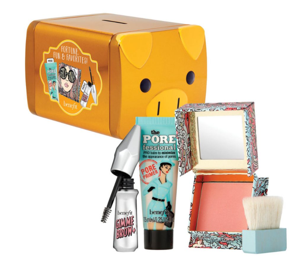 BENEFIT COSMETICS: Fortune, Fun, Favorites Mini Set Limited Edition