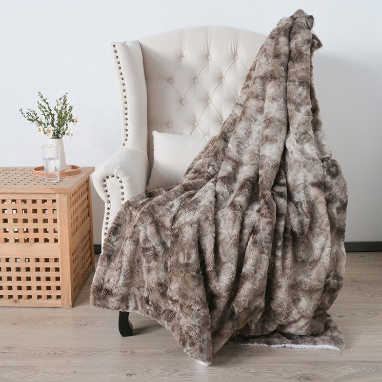 Luxury Faux Fur Throw | Cornell's Country Store
