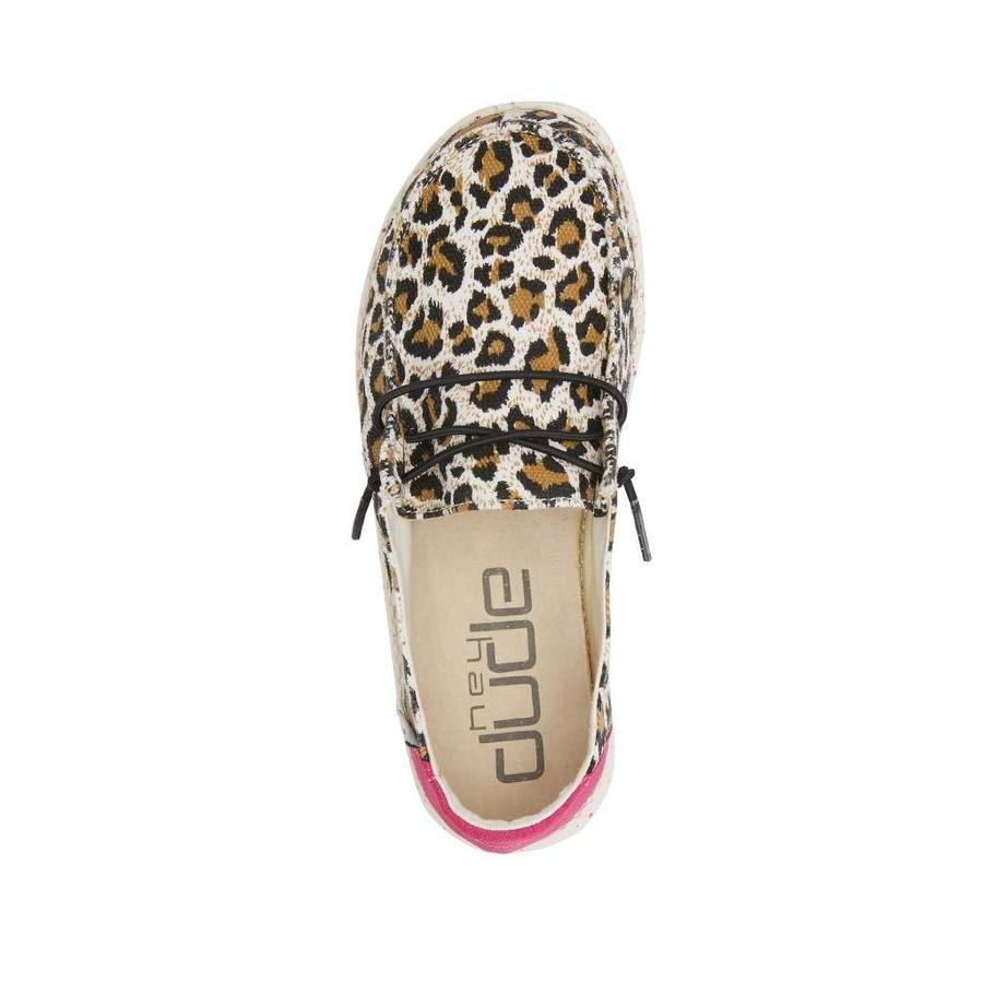 Hey Dude Wendy Youth Cheetah Shoes | Cornell's Country Store
