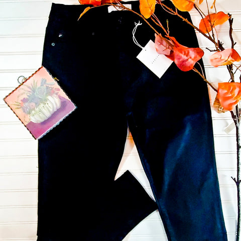 Kancan High Rise Black Skinny Jeans