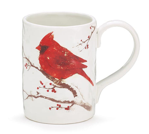 Winter's Blessing Cardinal Mug | Cornell's Country Store