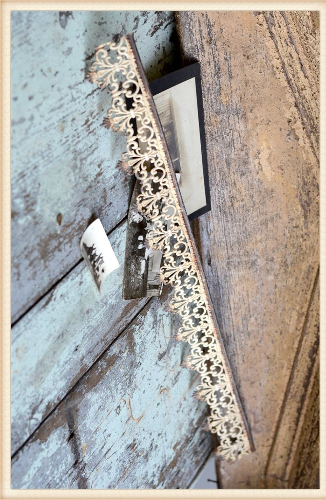 Vintage Inspired Metal Filigree Trim