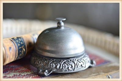 Ornate Desk Bell | Cornell's Country Store