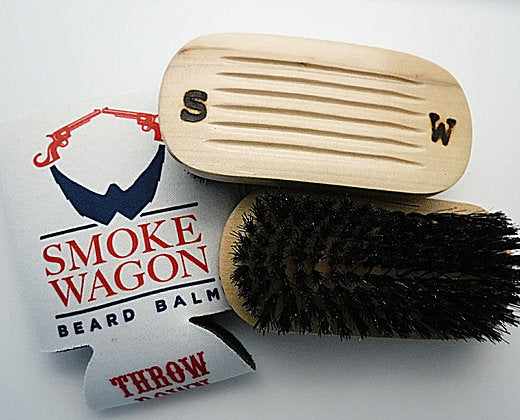 Smoke Wagon Beard Brush
