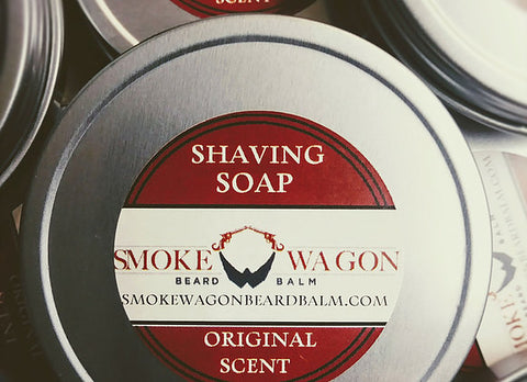 Smoke Wagon Original Scent Shaving Soap