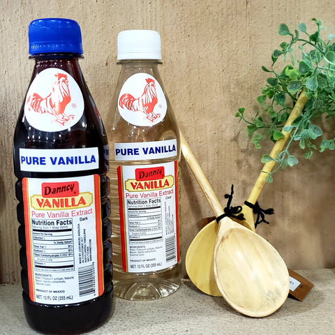 Pure Mexican Vanilla - Dark or Clear
