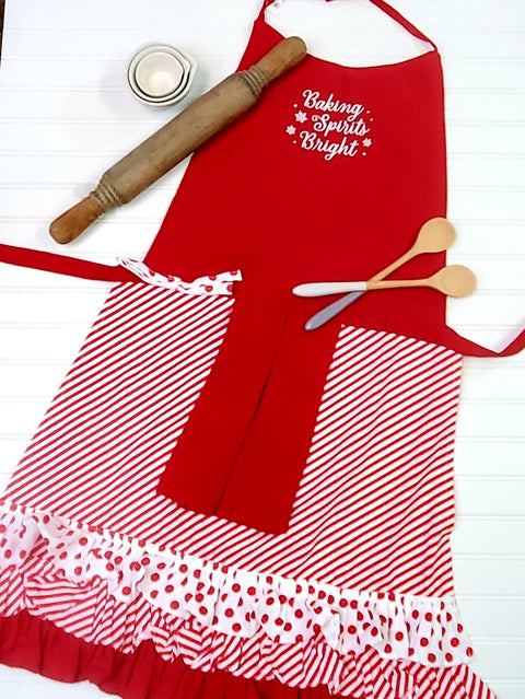 Baking Spirits Bright Apron