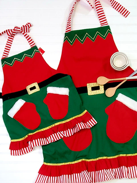 You and Me Elf Aprons