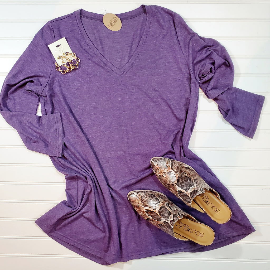 Essential V Neck Tunic | Cornell's Country Store