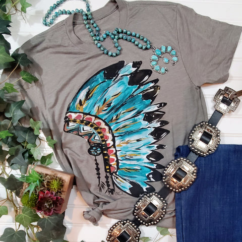 Callie's Indian Headdress Tee