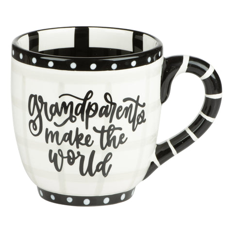 Grandparents Make The World Better Place Mug