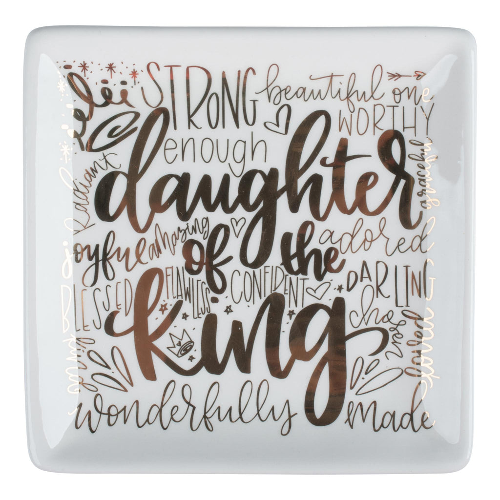 Daughter Of The King Trinket Tray