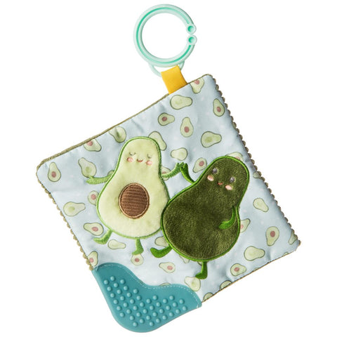 Yummy Avocado Crinkle Teether – 6×6″