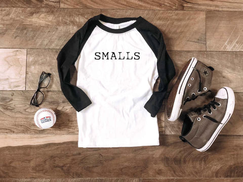 Smalls Youth Baseball Tee