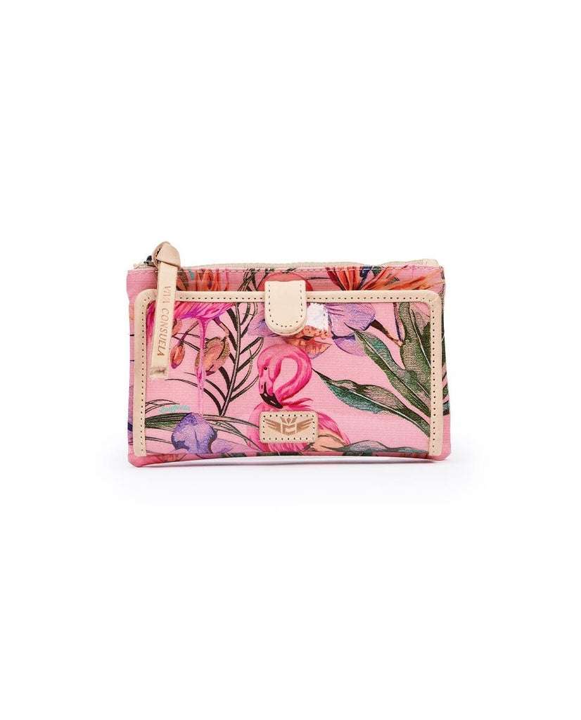 Consuela Brynn Flamingo Slim Wallet | Cornell's Country Store