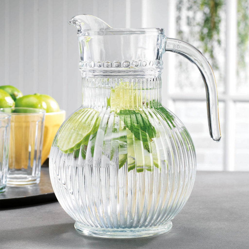 Cellini Glass Pitcher | Cornell's Country Store
