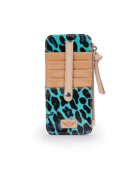 Consuela Bags Card Organizer - Gem Ocean Jag | Cornell's Country Store