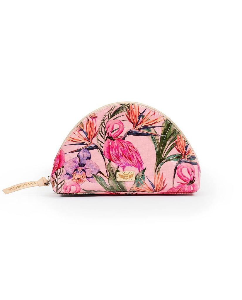 Consuela Bags Brynn Flamingo Cosmetic Bags | Cornell's Country Store