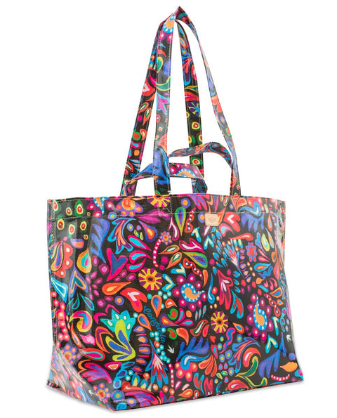 Consuela Sophie Black Swirly Jumbo Grab N Go Bag