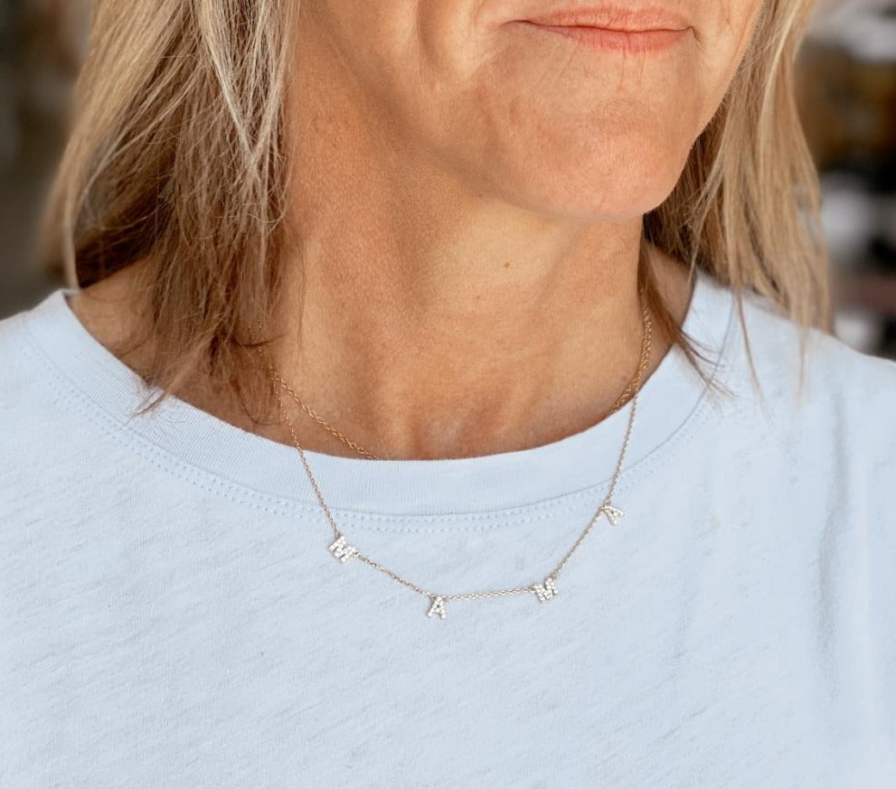 Crystal Mama Necklace | Cornell's Country Store