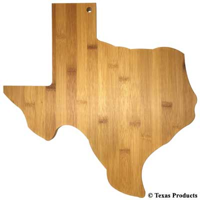 Texas Bamboo Cutting Boards | Cornell's Country Store
