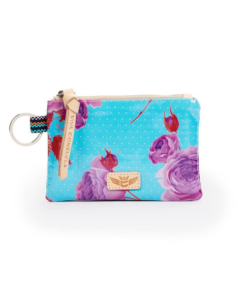 Consuela Mimi Flower Power Teeny Pouch  | Cornell's Country Store