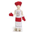 Santa's Cookie Tester Apron and Chef Hat Set | Cornell's Country Store
