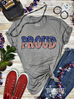 Patriotic PROUD Graphic Tee | Cornell's Country Store