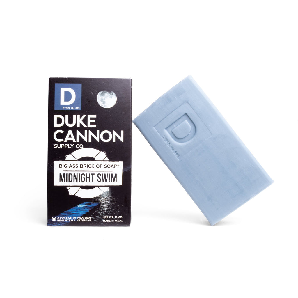 Duke Cannon Midnight Swim Soap | Cornell's Country Store