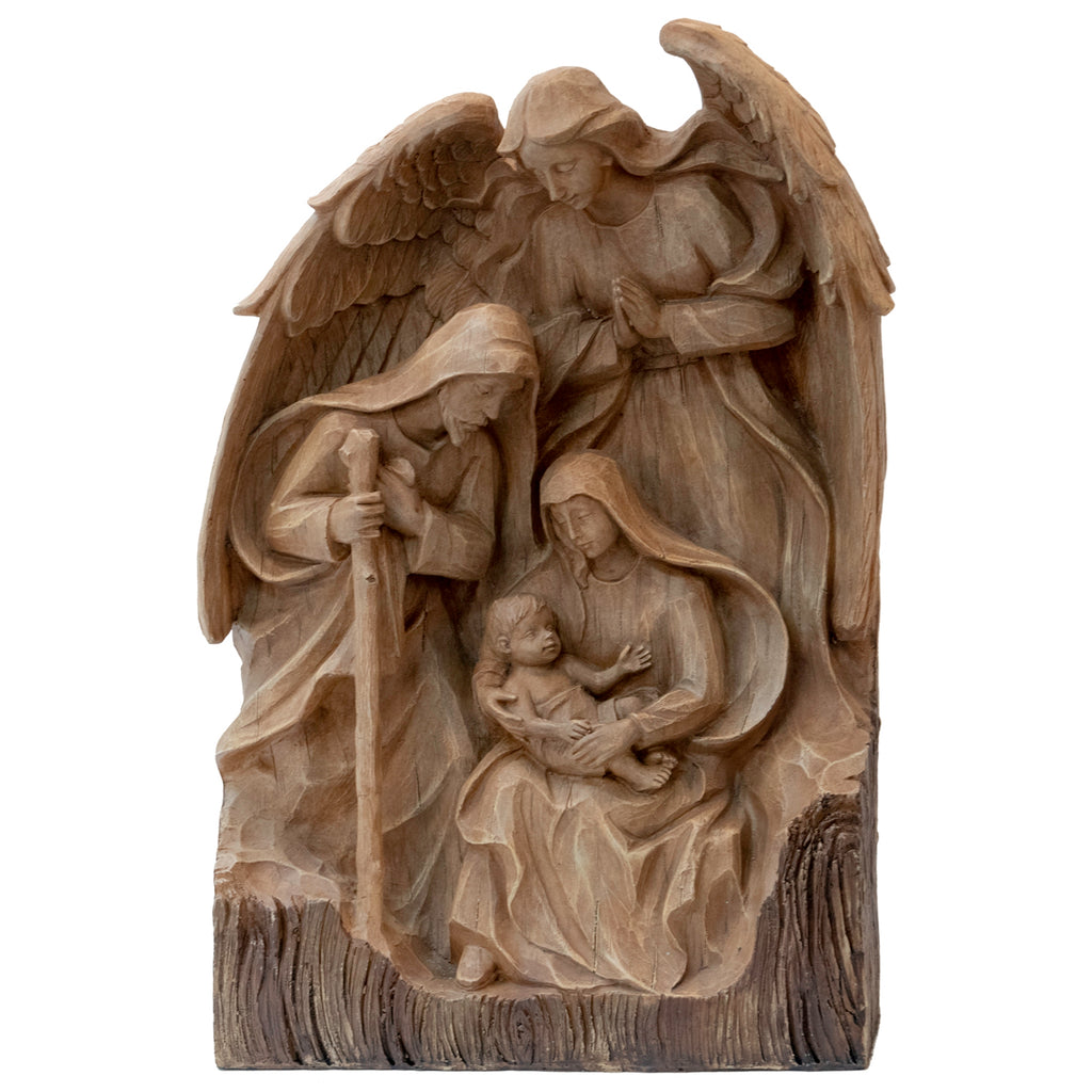 Holy Family W/ Angel