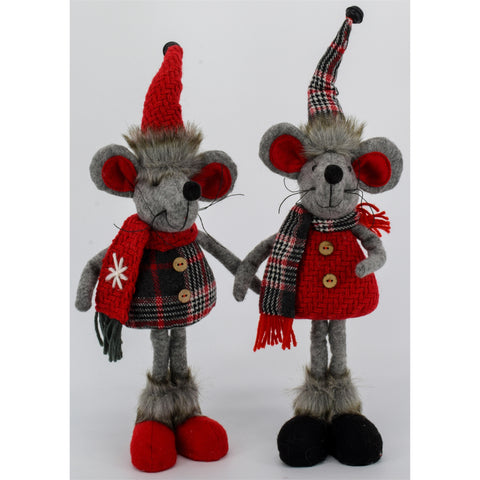 Standing Mouse Couple | Cornell's Country Store