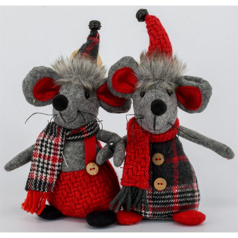Sitting Mouse Couple | Cornell's Country Store