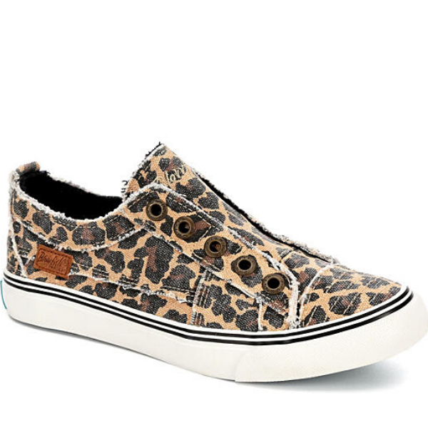 Blowfish Slip On City Kitty Leopard Sneakers | Cornell's Country Store