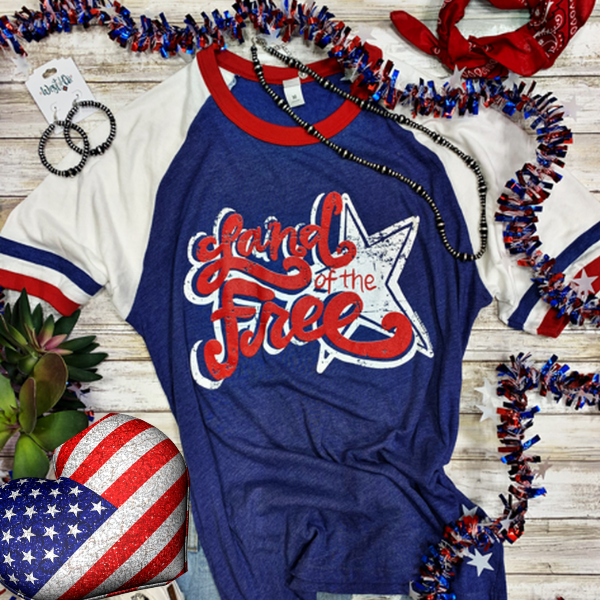 Land Of The Free Graphic Tee | Cornell's Country Store